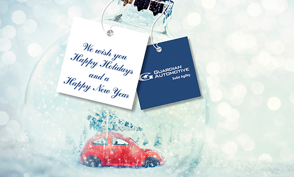 SEASON'S GREETINGS FROM GUARDIAN AUTOMOTIVE